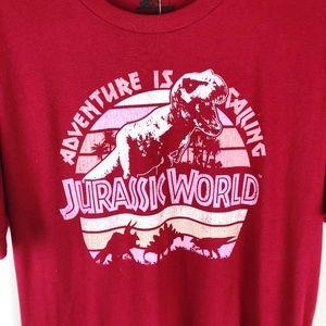 039fb9184c4 Jurassic World Shirts - NWT Jurrasic World Adventure is Calling Tee (L)
